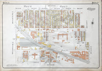 Goad Map of Toronto Plate 21 - Dufferin Street to Strachan Avenue