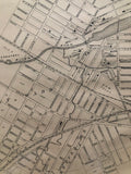 close up of 1879 Map of Stratford