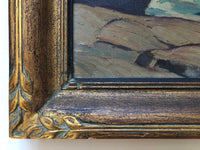 close up of frame on [Rocky Shore]