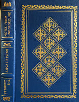 Dostoevsky Notes From Underground & The Gambler Easton Press Leather Collector's Editon Book
