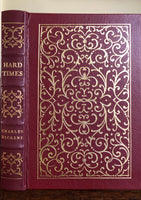 Hard Times By Charles Dickens Easton Press Leather Bound Book