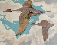 Alfred Joseph Casson Flying Geese Silkscreen