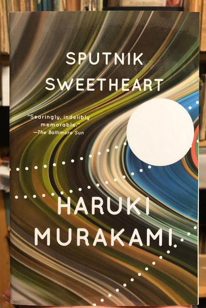 Softcover fiction book Sputnik Sweetheart by Haruki Murakami