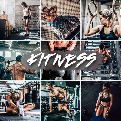 FITNESS // 5 MOBILE PRESETS