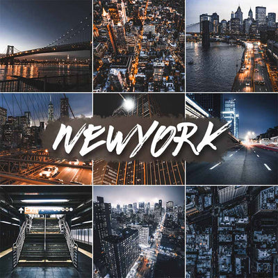 NEW YORK // 5 MOBILE PRESETS