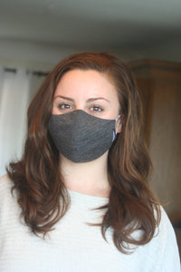 Charcoal Merino Smooth Mask (Single)