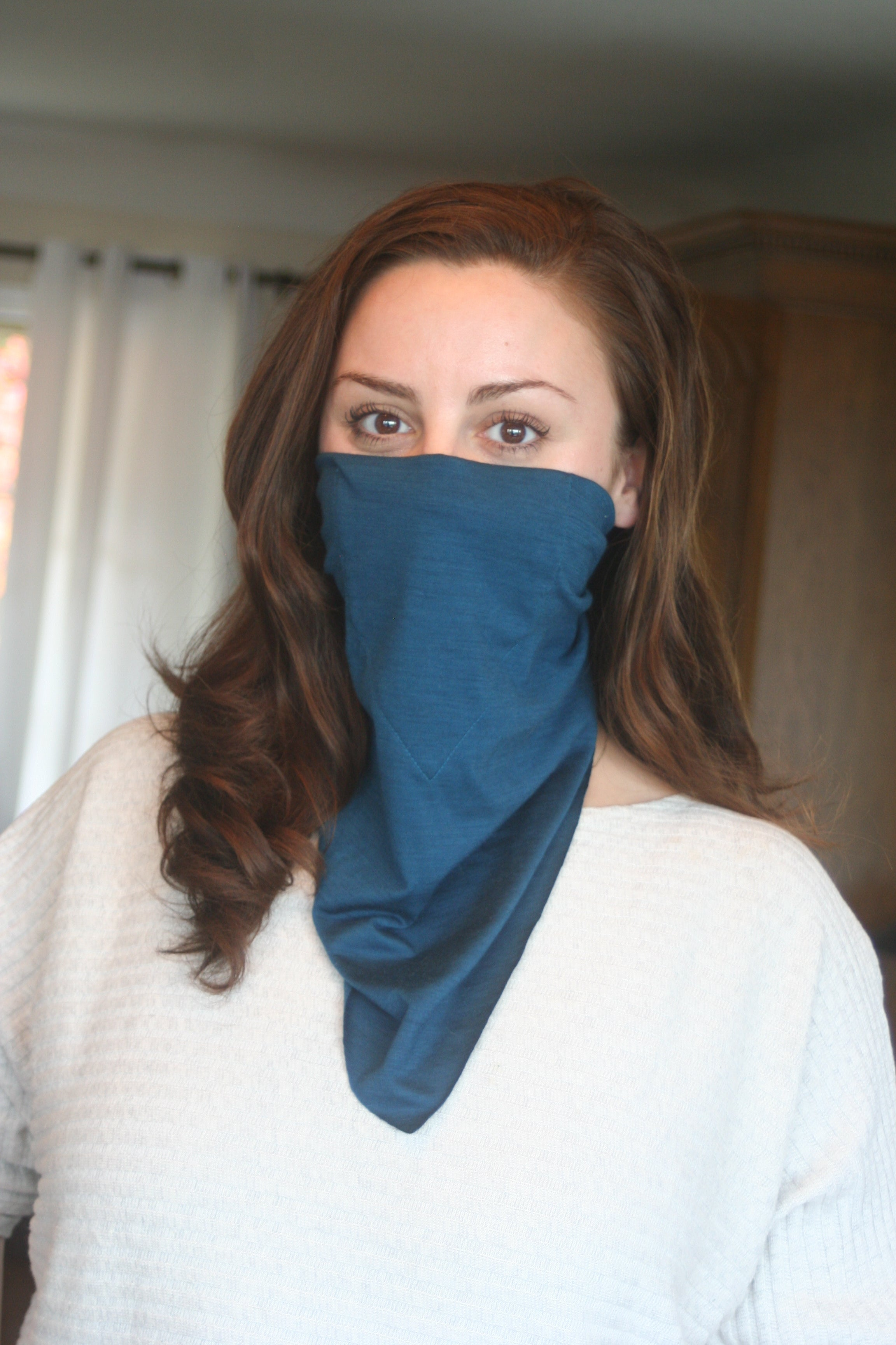 Blue Merino Bandana (Single)