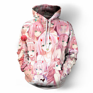 DARLING In The FRANXX Zero Two Hoodies