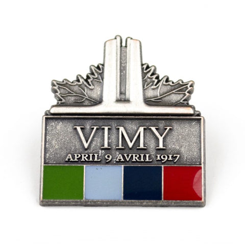 Close product shot of Vimy Foundation pin