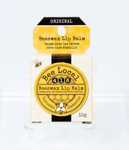 Packaging for Bee Local 416 Lip Balm