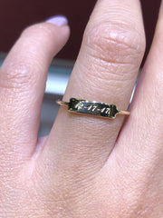 personalized ID ring