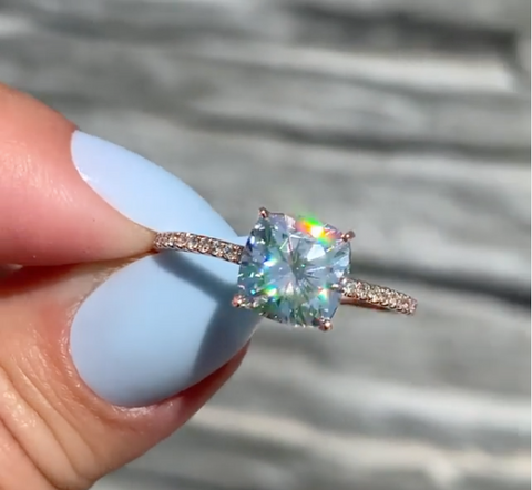 budget engagement ring