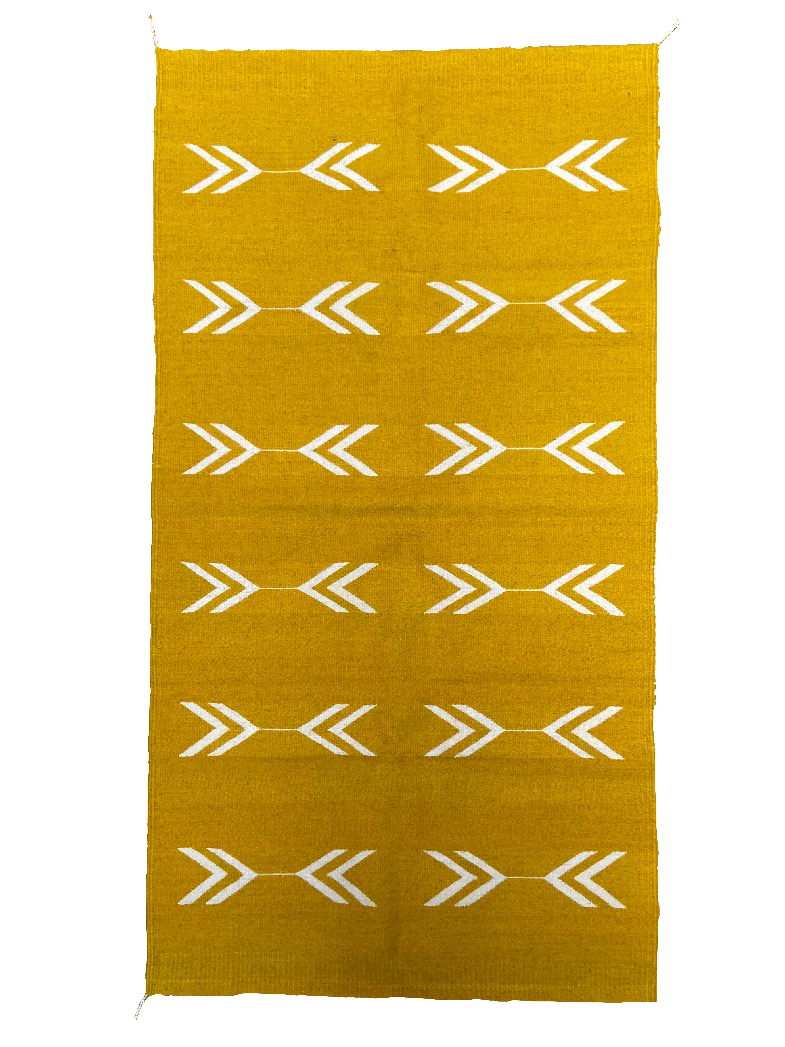 Zapotec wool rug made from natural dye