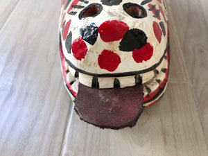 Traditional Oaxacan Carnival Mask