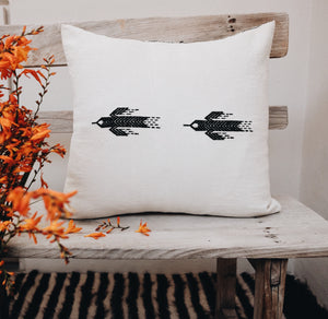 Cotton falcon Pillow cover