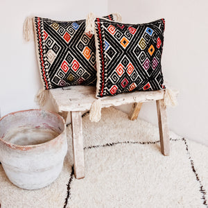 San Andres wool pillow cover, Made in Mexico