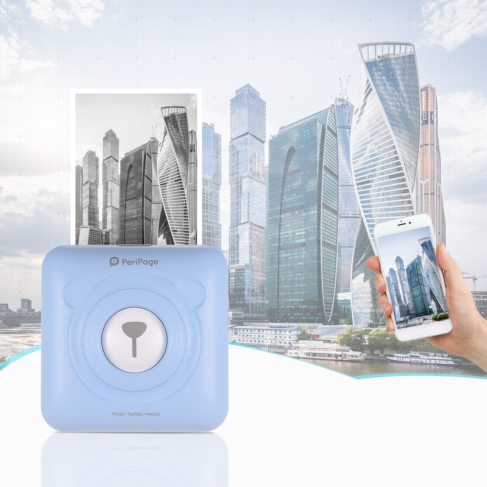Portable Smart Photo Printer