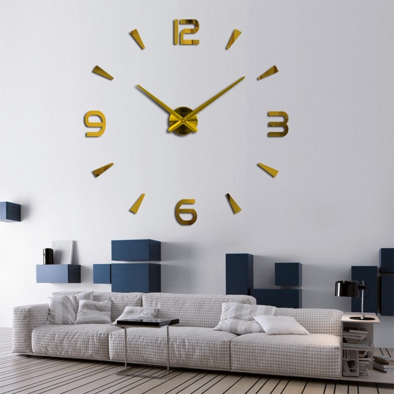 special large Living Room quartz wall clock