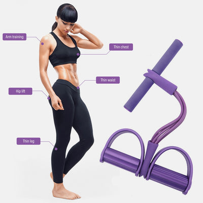Ankle Puller Indoor Fitness Resistance Bands