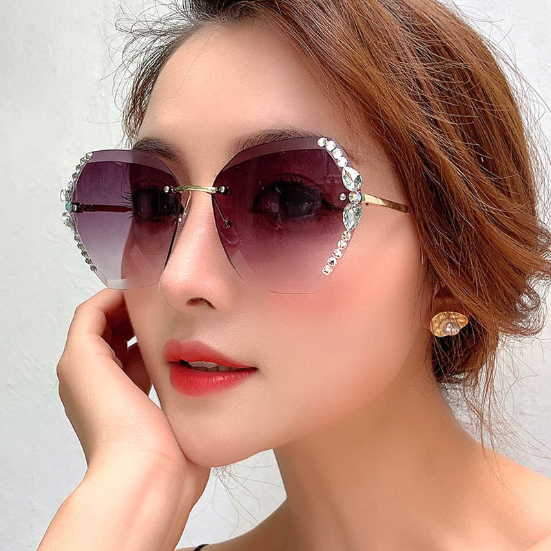 Crystal Fashion Sunglasses