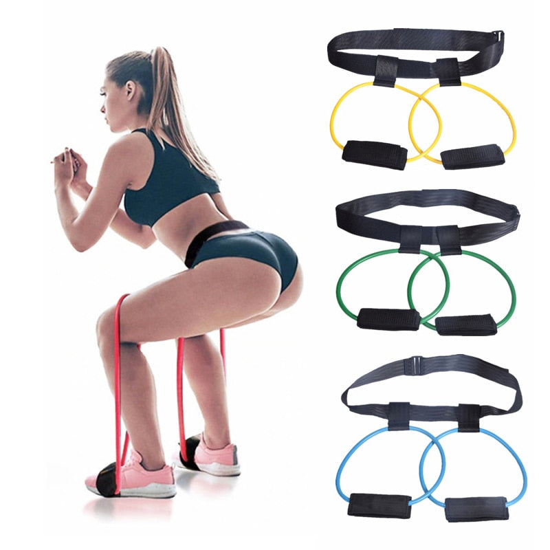 Fitness Bands Set Resistance for Butt Legs Muscl