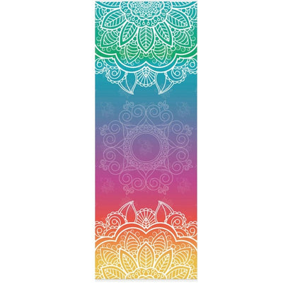 Astonishingly printed yoga mats