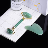 Gemelix Jade Roller and Guasha set