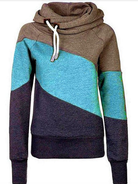 Hoodie Long Sleeve Sheath Sweatshirt