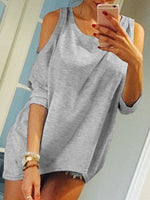 Casual Crew Neck Cotton Half Sleeve Shirts & Tops