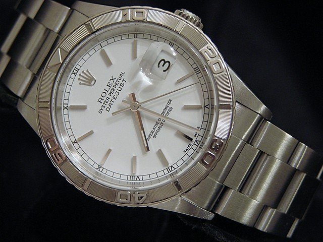 Men's Rolex Datejust Turn-O-Graph 16264 36mm Mens Watch PRE-OWNED