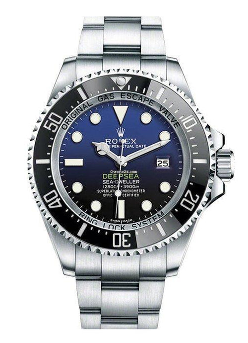 Men's Rolex Deepsea 126660  Stainless Steel 44mm Automatic BRAND NEW - Global Timez