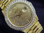 Men's Rolex 18K Gold Day-Date President Diamond PRE-OWNED