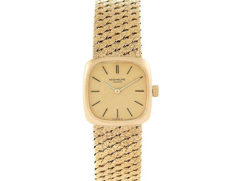 Ladies Patek Philippe 18K Yellow Gold Vintage Coctail Ladies Watch 4179 PRE-OWNED - Global Timez