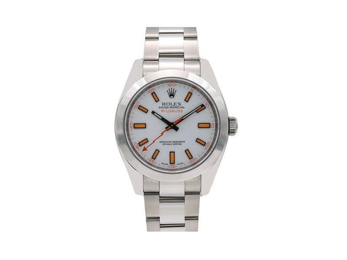 Men's Rolex Milgauss 116400 40mm Mens Watch PRE-OWNED - Global Timez