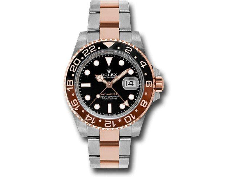 Men's Rolex GMT-Master II 126711BKSO 40mm Watch BRAND NEW