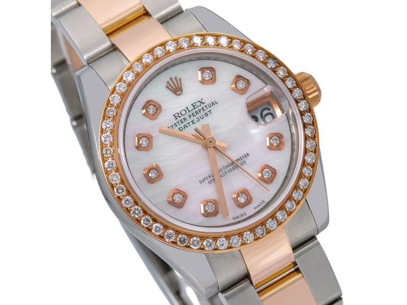 Ladies Rolex Datejust 178241 31mm Watch PRE-OWNED - Global Timez