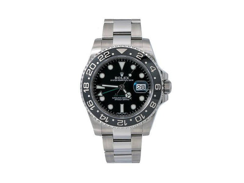Men's Rolex GMT MASTER II 116710LN 40mm Mens Watch PRE-OWNED - Global Timez