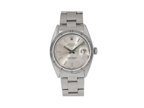Ladies Rolex Oyster Perpetual Date 1501 34mm Watch PRE-OWNED - Global Timez