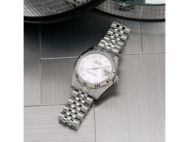 Ladies Rolex Datejust 178274 31mm Watch PRE-OWNED - Global Timez