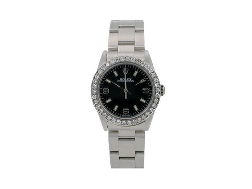 Ladies Rolex Oyster Perpetual 77080 31mm Watch PRE-OWNED - Global Timez