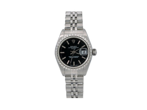 Ladies Rolex Oyster Perpetual Lady Date 69240 26mm Watch PRE-OWNED