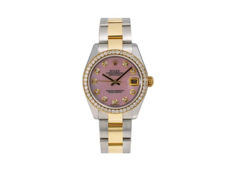 Ladies Rolex Datejust 178273 31mm Watch PRE-OWNED