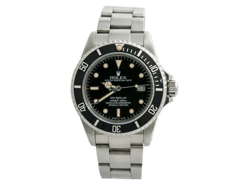 Men's Rolex Sea-Dweller Vintage 16660 Spider Dial  Vintage Automatic Watch 40MM PRE-OWNED - Global Timez