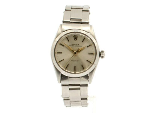 Men's Rolex Vintage 30mm Midsize Oyster Speedking 6431 Hand-Wind C.1962 Watch PRE-OWNED - Global Timez