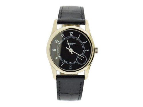 Ladies Patek Philippe Calatrava 5000J 33mm  Watch PRE-OWNED - Global Timez
