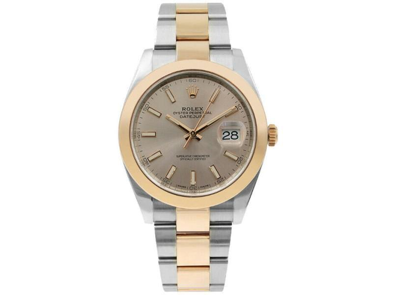 Men's Rolex Datejust II 126301  Rose Rose Gold 41mm Automatic BRAND NEW - Global Timez