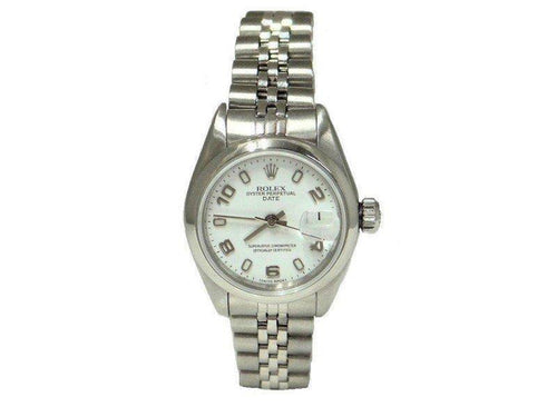 Ladies Rolex Date 69160 25mm Watch PRE-OWNED - Global Timez