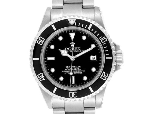 Men's Rolex Seadweller 40 Automatic Steel Mens Watch 16600 PRE-OWNED - Global Timez