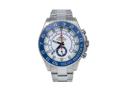 Men's Rolex Yacht-Master II 116680 44mm Mens Watch PRE-OWNED - Global Timez