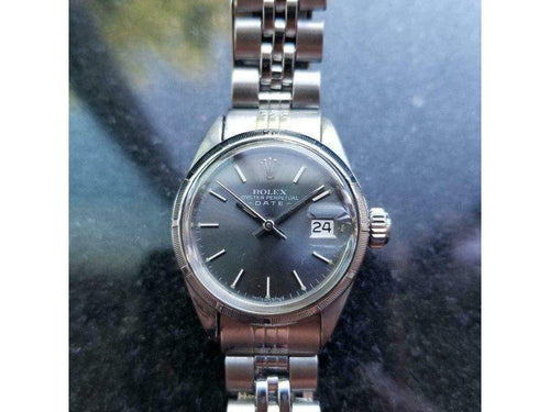Ladies Rolex Oyster Perpetual Date Ref.6919 25mm Automatic, C.1970s LV839 PRE-OWNED - Global Timez
